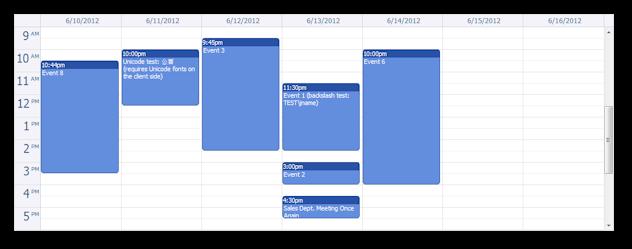 Design Calendar Using Javascript : Ajax event calendar for java and jquery open source