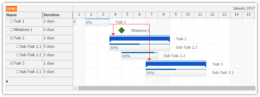 open project gantt chart download