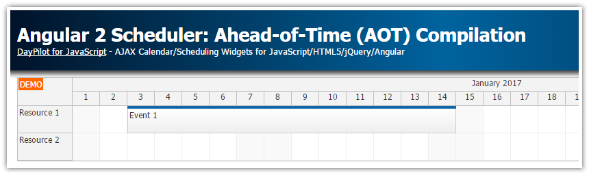 angular2 scheduler aot