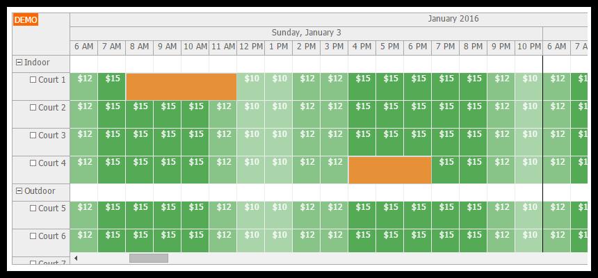 how to create calendar in html using javascript