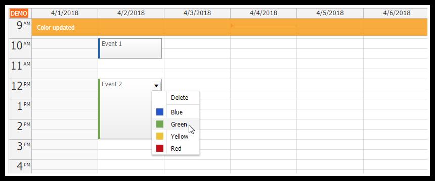 Vue js Weekly Calendar Tutorial | DayPilot Code