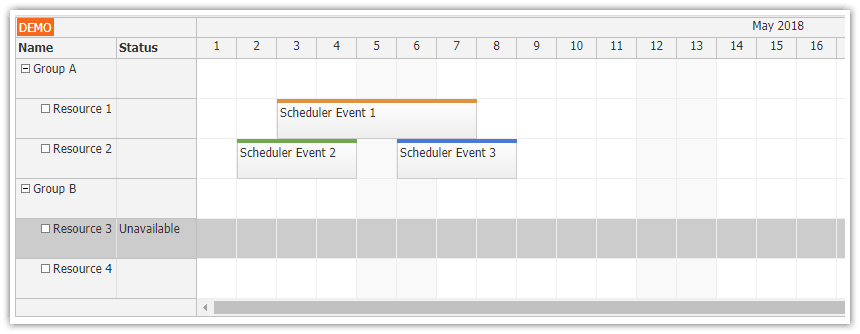 Angular 6 Scheduler Quick Start Project | DayPilot Code