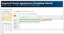AngularJS Doctor Appointment Scheduling Tutorial (PHP)