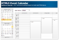 HTML5 Event Calendar (Open-Source)