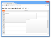 Event Calendar for ASP.NET MVC 4 Razor (C#, VB.NET, SQL Server)