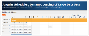 Angular Scheduler: Dynamic Loading of Large Data Sets