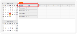 Scheduler with Sortable Columns (ASP.NET WebForms)