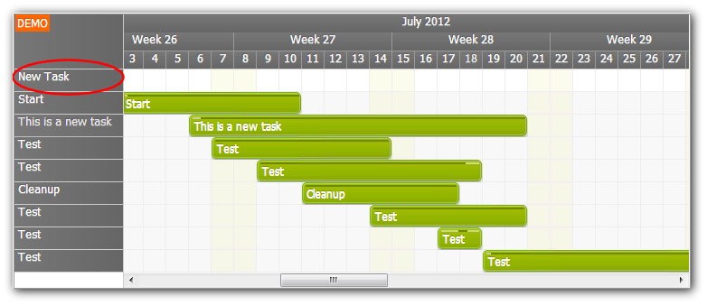 Gantt Chart Tutorial (ASP.NET, SQL Server, C#, VB.NET) | DayPilot Code