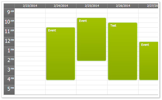 Html5 Javascript Event Calendar Open Source Daypilot Code