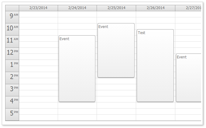 Html5javascript event calendar open source daypilot code html5 event calendar css theme whiteg saigontimesfo