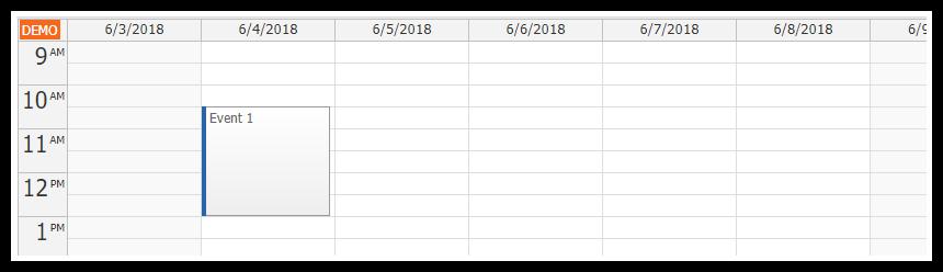 React Weekly Calendar Tutorial | DayPilot Code
