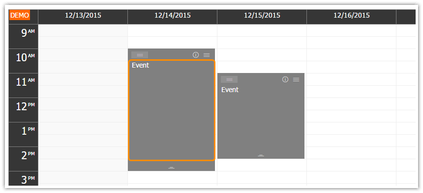 HTML5 Event Calendar for Touch Devices - iPad, iPhone, Android ...