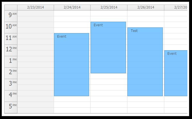 HTML5/JavaScript Event Calendar (Open-Source) | DayPilot Code