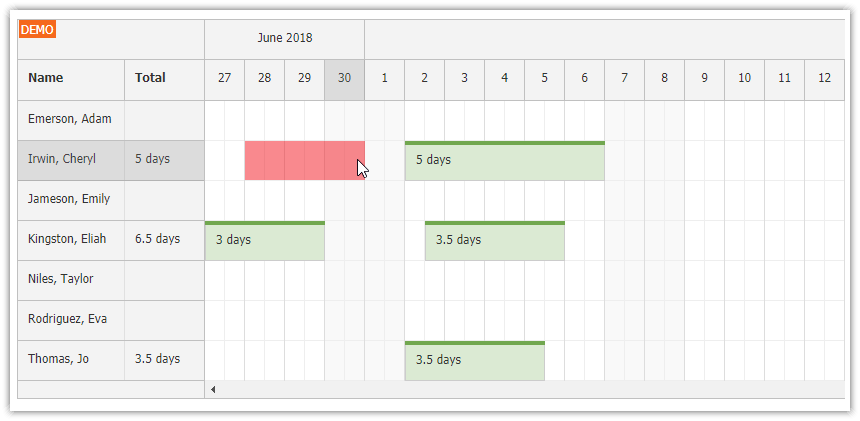 php-annual-leave-scheduling-javascript-html5-weekends.png