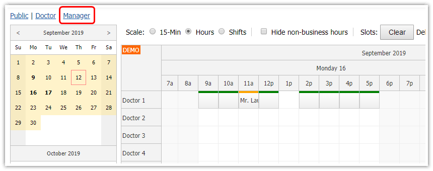 html5-doctor-appointment-scheduling-javascript-php-overview-manager.png