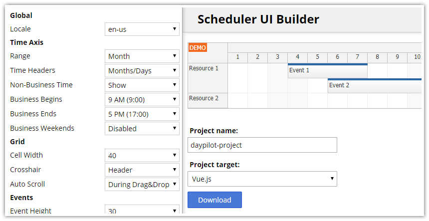 Vue js Scheduler: Build a Reservation Application in 5 Minutes