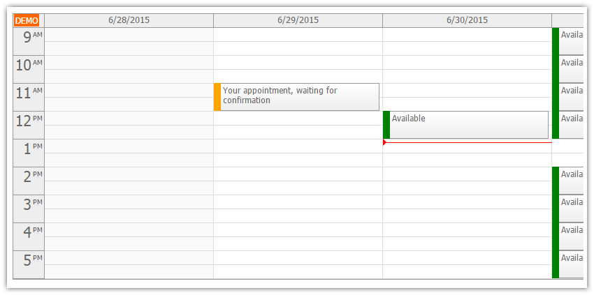 ASP NET Doctor Appointment Scheduling (C#, VB NET, SQL Server