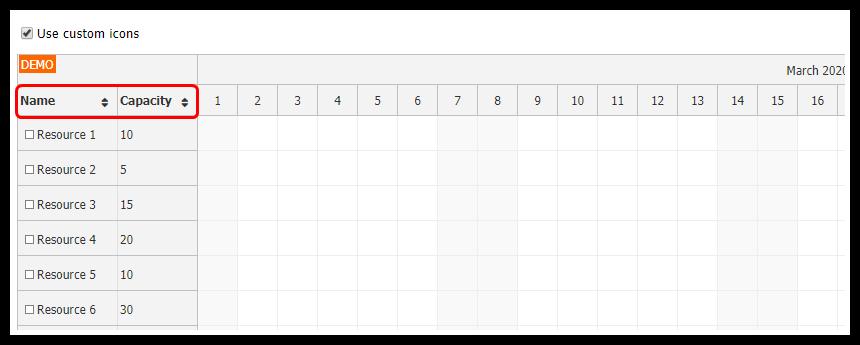 javascript-scheduler-row-sorting-custom-sort-icons.png