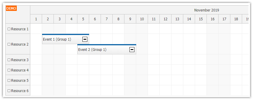 javascript-scheduler-expandable-event-groups-collapse-icon.png